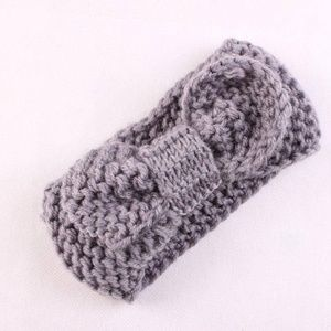 Other - NEW baby toddler gray knit headband